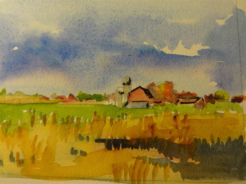 """""""Carter Farm"""" original fine art by angela scully"""