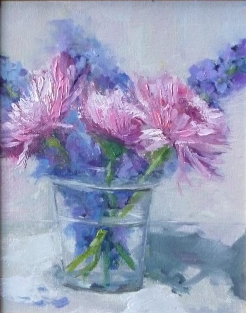 """""""In the Pink"""" original fine art by Carol Josefiak"""