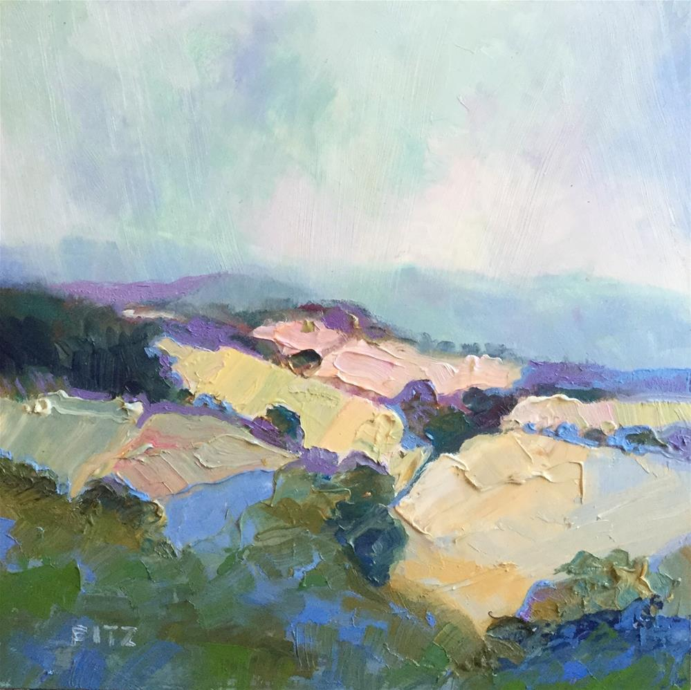 """Morning Mist"" original fine art by Charlotte Fitzgerald"