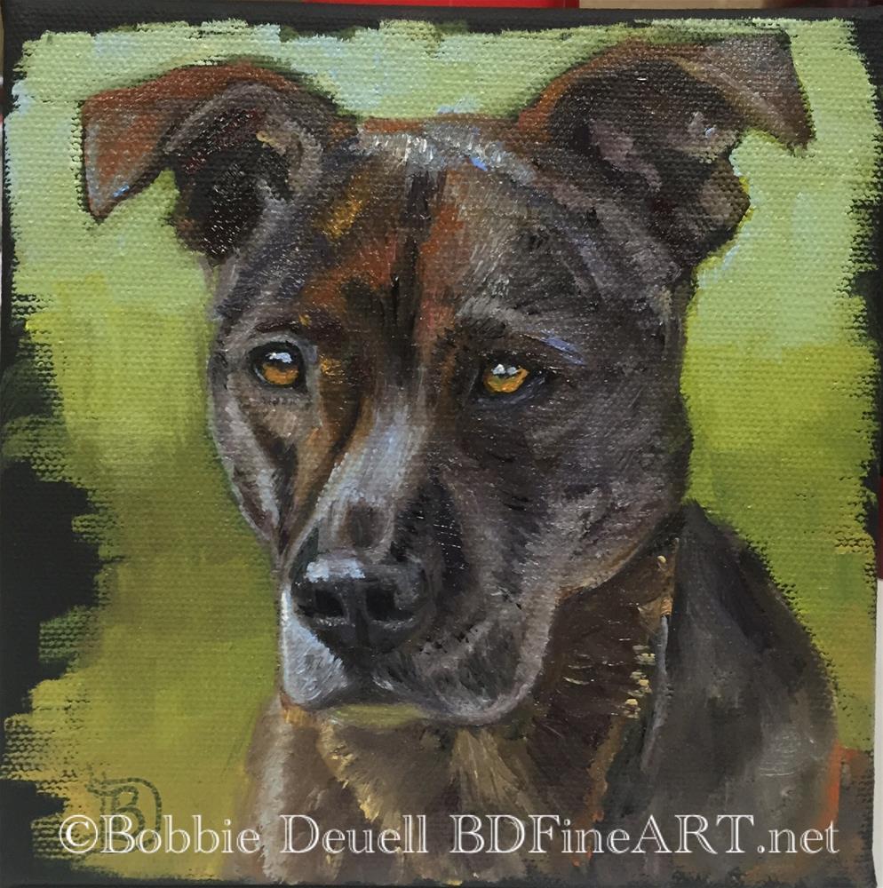 """#52 Ava"" original fine art by Bobbie Deuell"