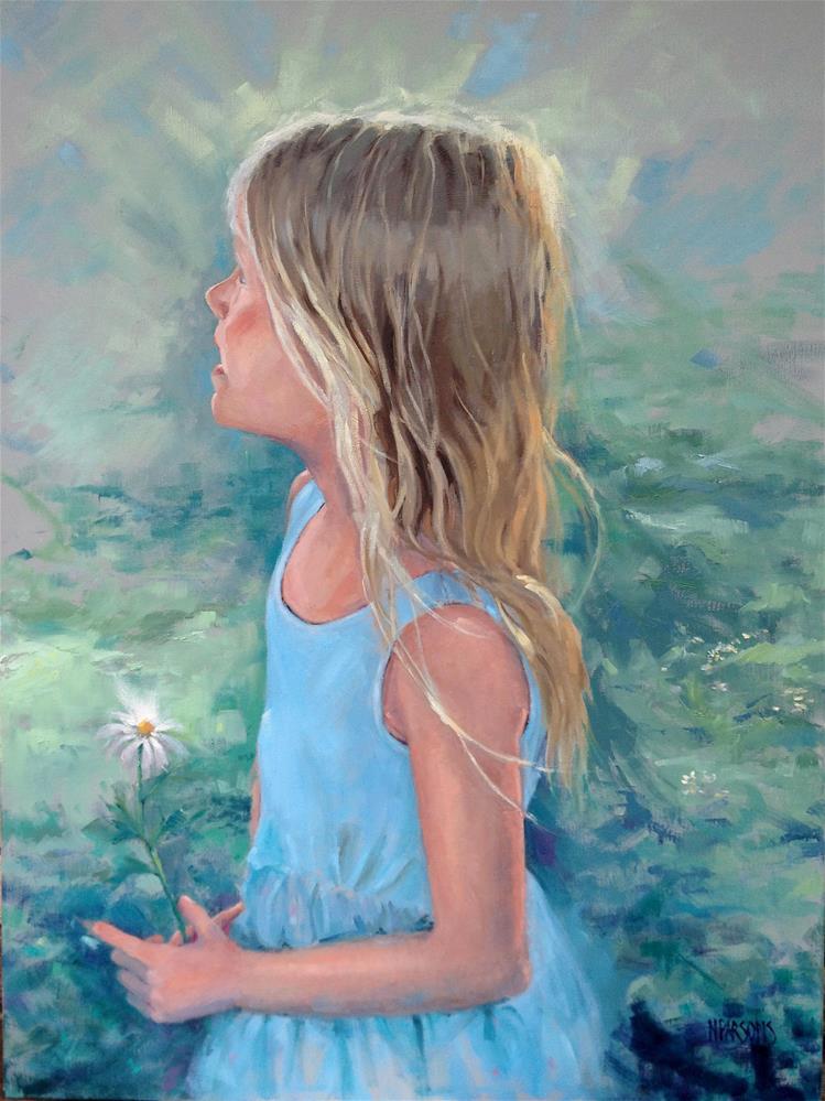 """Juliet"" original fine art by Nancy Parsons"