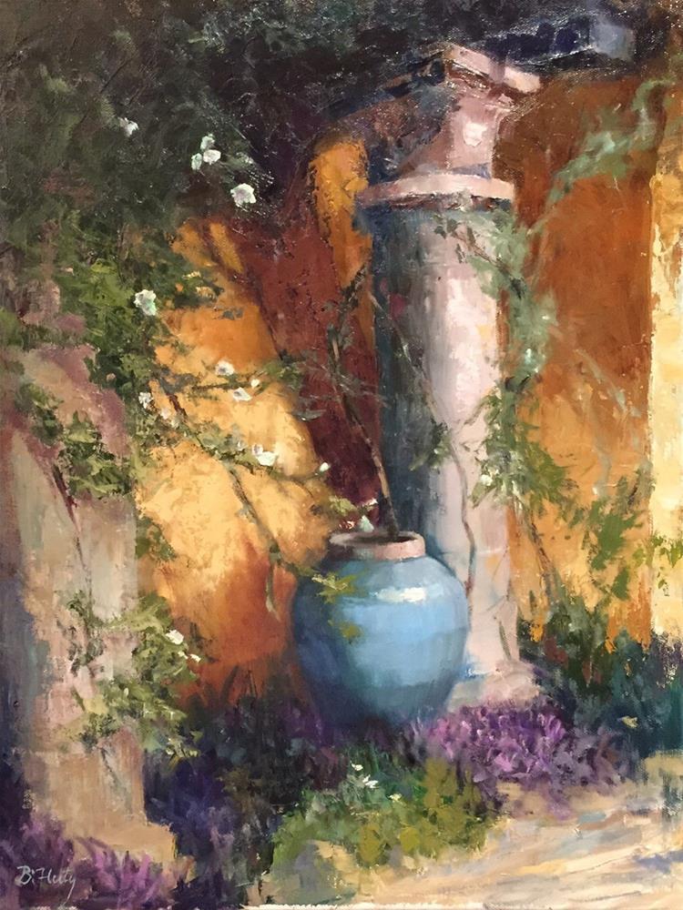 """Calm"" original fine art by Barbara Fluty"