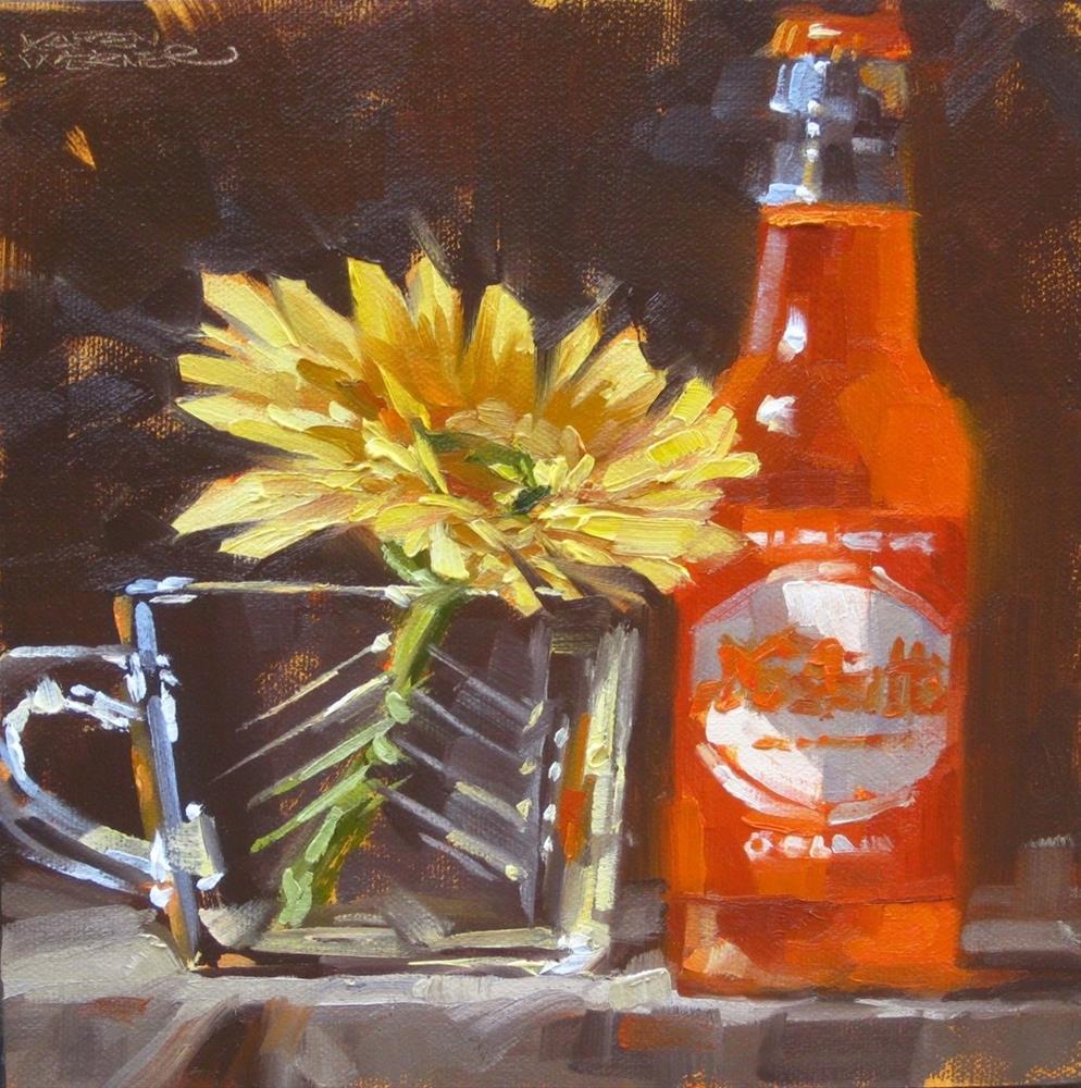 """""""Nesbitts"""" original fine art by Karen Werner"""