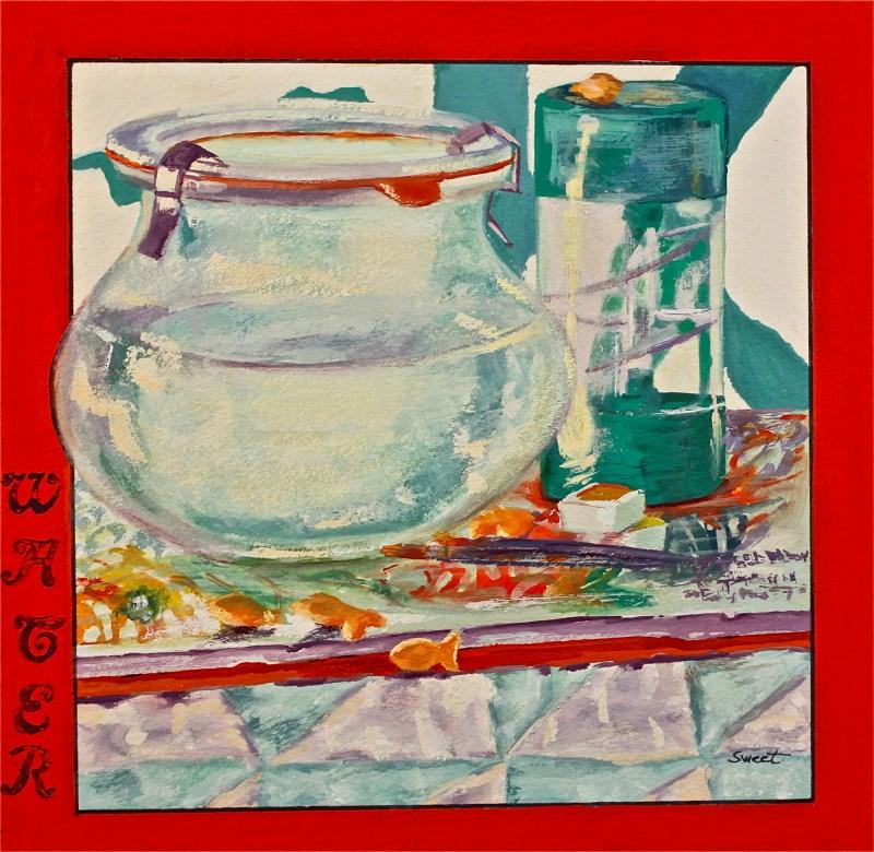 """""""Water"""" original fine art by Pamela Sweet"""