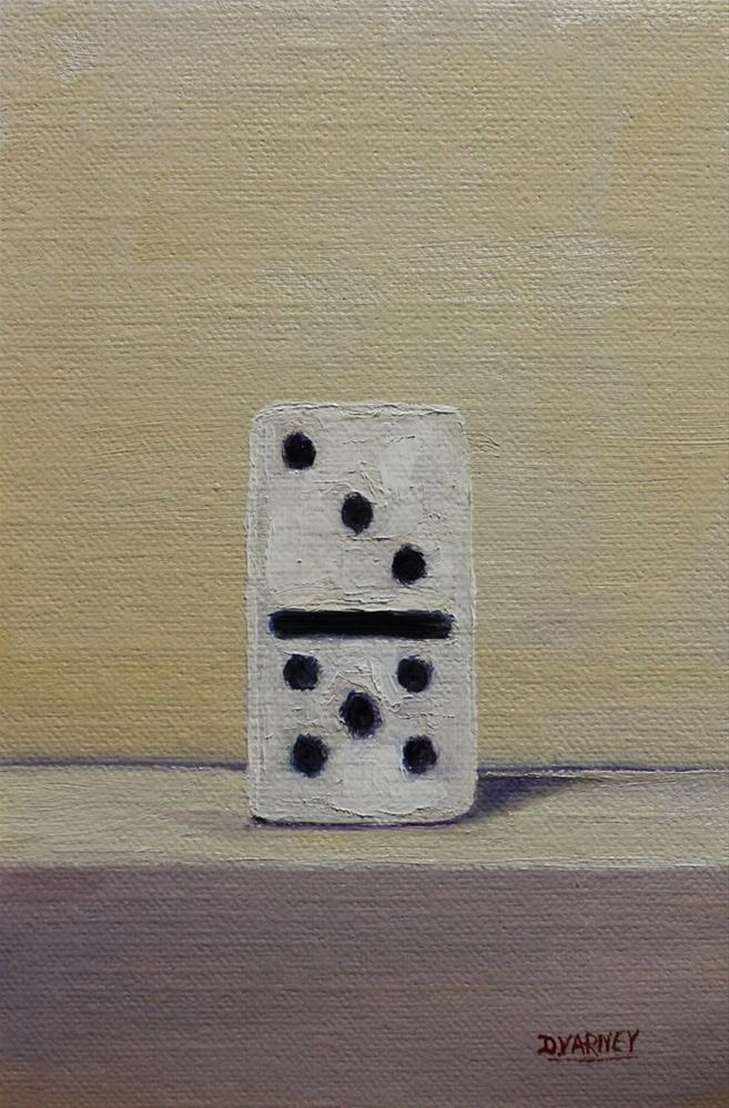 """Domino"" original fine art by Daniel Varney"
