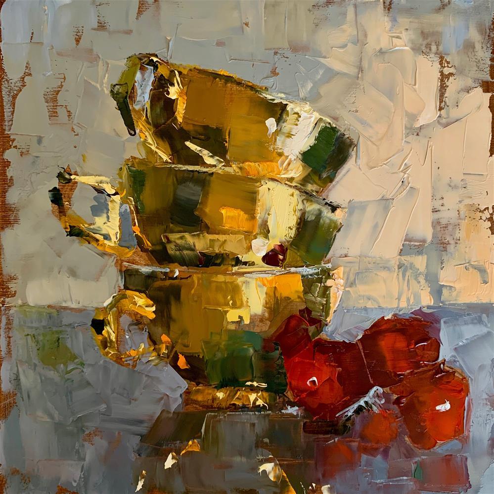 """""""Two triplets"""" original fine art by Ans Debije"""