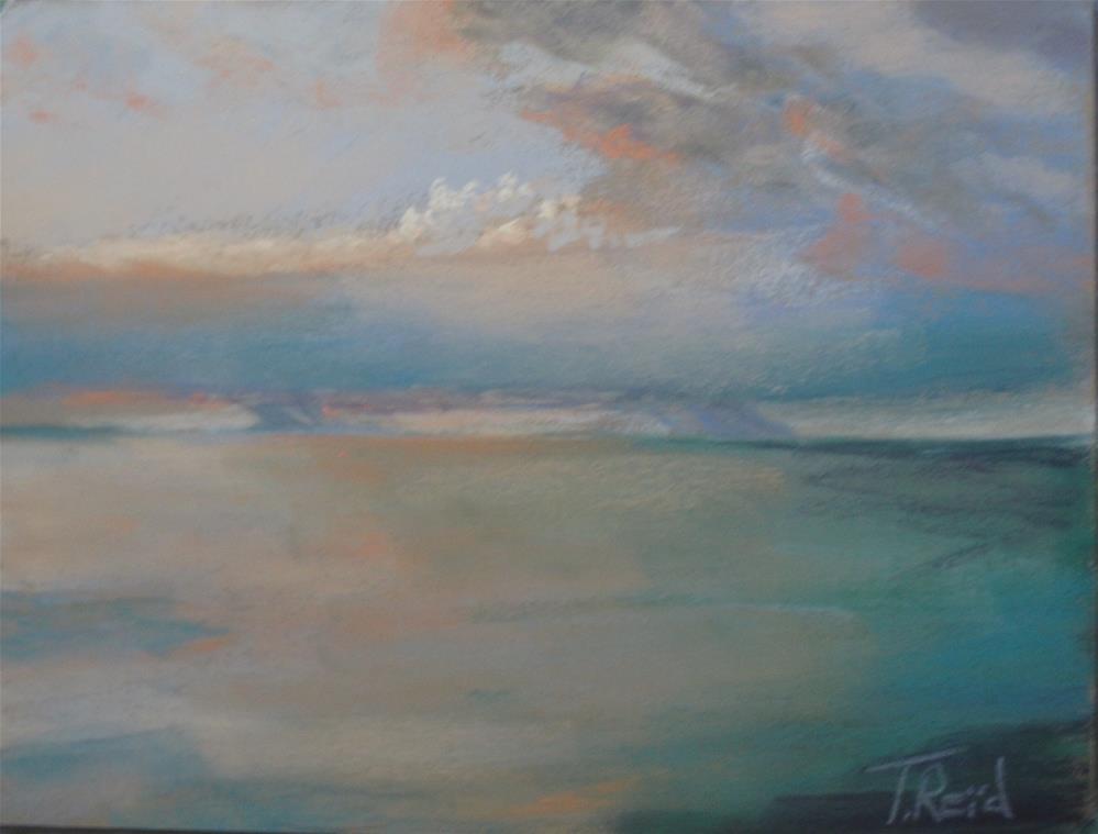 """""""Clouds #10"""" original fine art by Toby Reid"""