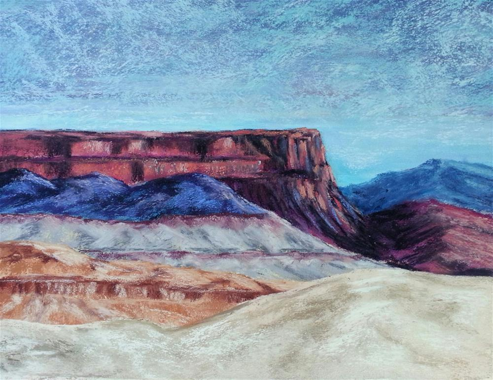 """""""and the Rocks Red Glare"""" original fine art by Anna Lisa Leal"""