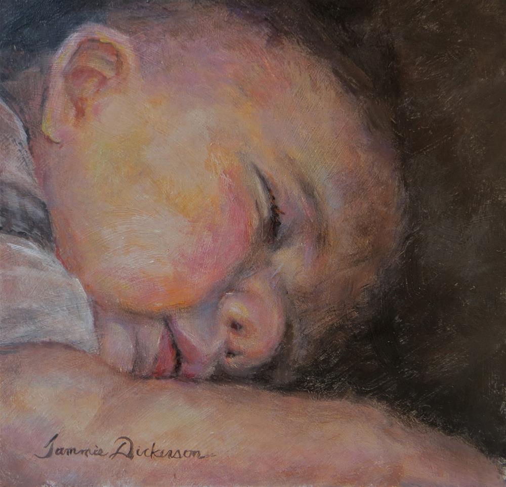 """Little Dreamer"" original fine art by Tammie Dickerson"