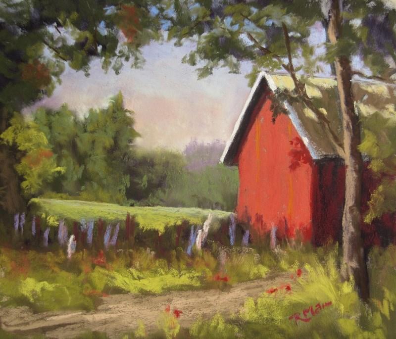 """Memories of Finland"" original fine art by Ruth Mann"
