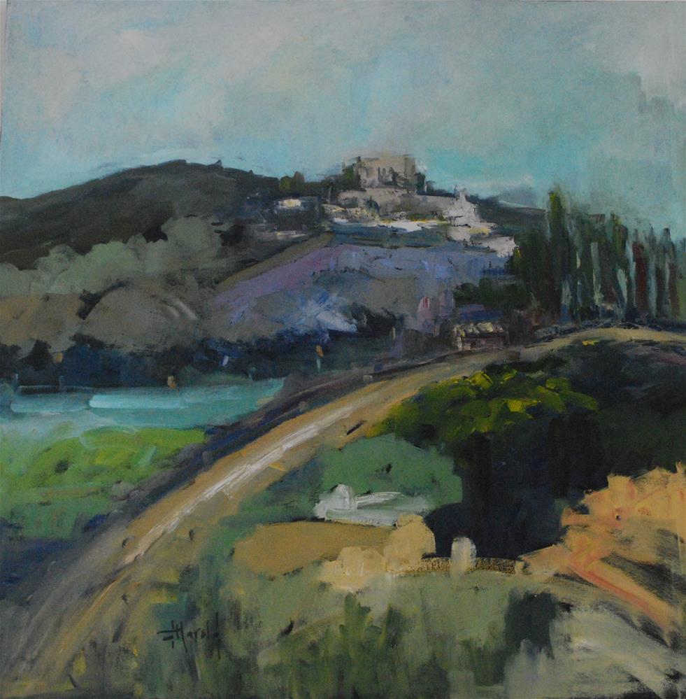 """South of France"" original fine art by Deborah Harold"
