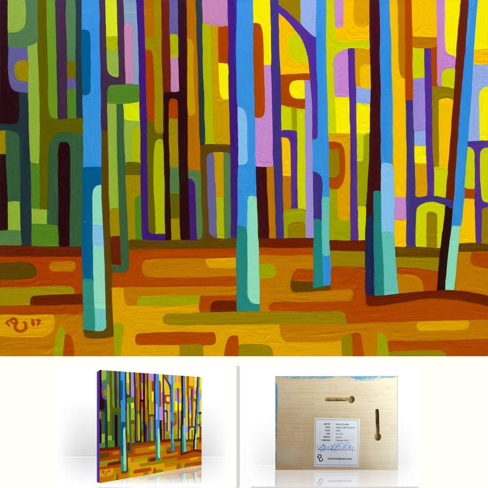 """Landscape Study #114"" original fine art by Mandy Budan"