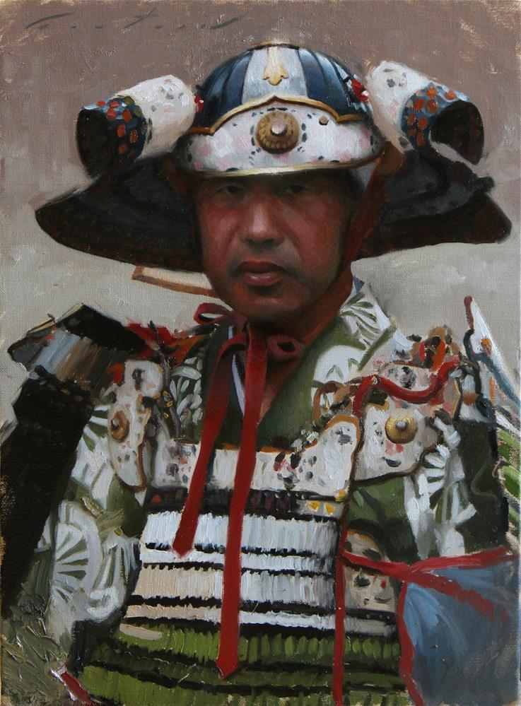 """Samurai"" original fine art by Phil Couture"