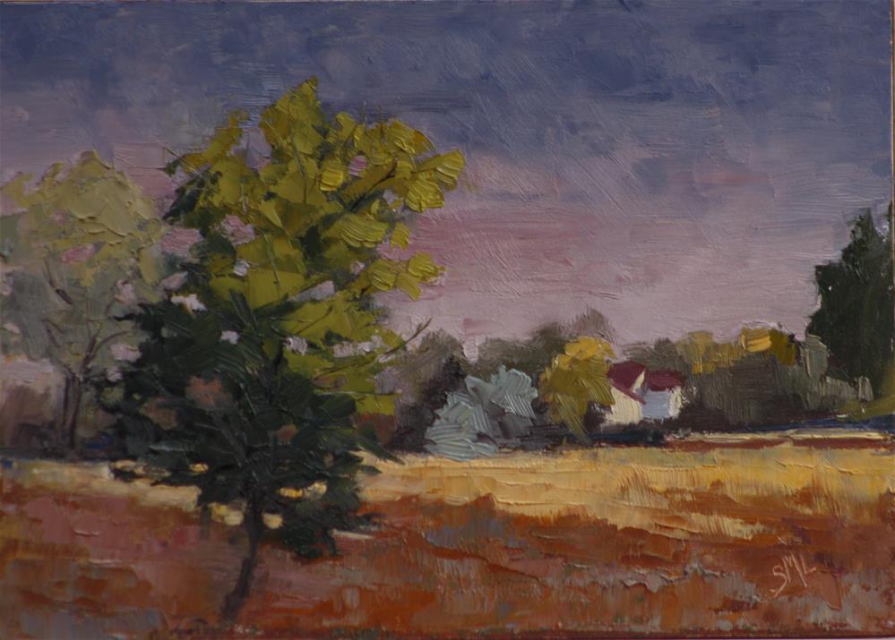 """Storm has Passed"" original fine art by Sheila Marie"