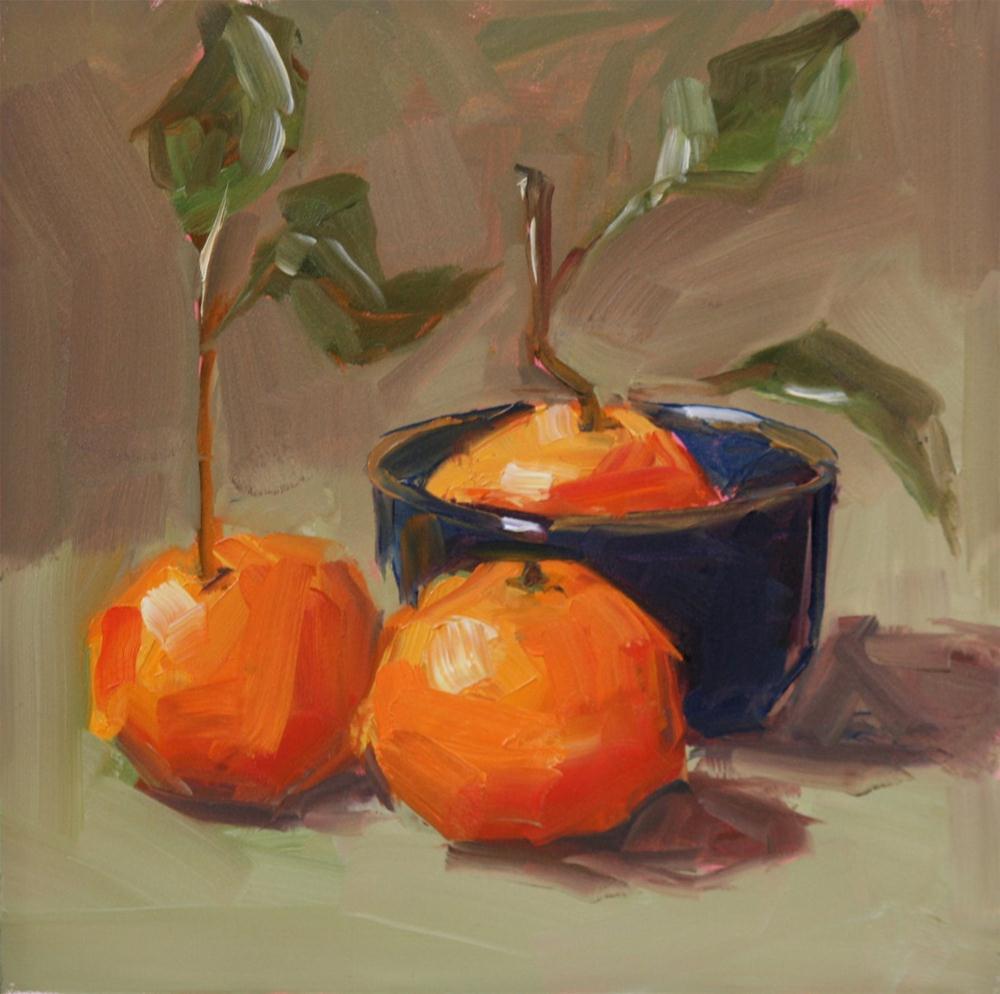 """combination of three"" original fine art by Carol Carmichael"