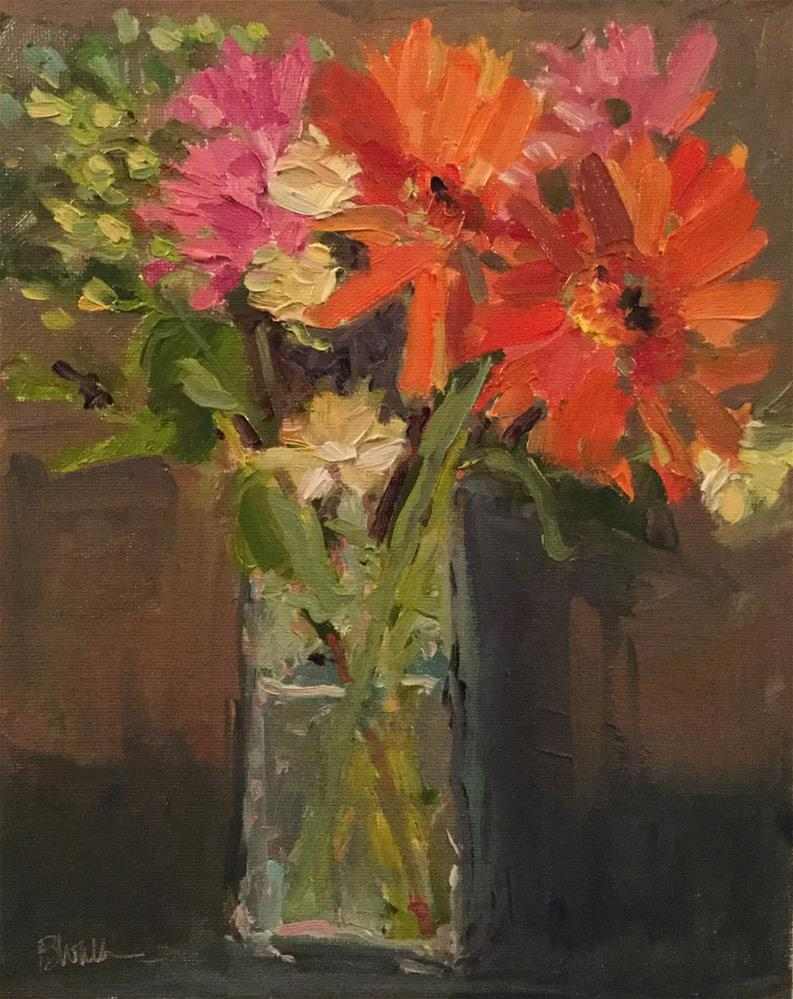 """Mixed Bouquet"" original fine art by Barb Walker"