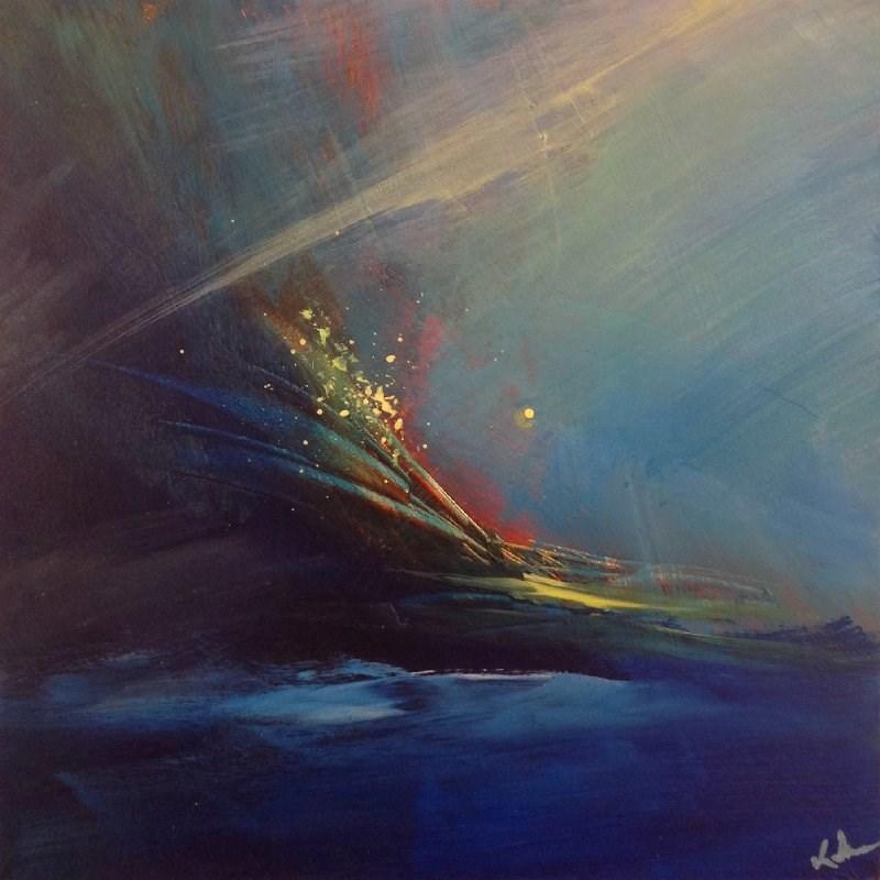 """Aria"" original fine art by David Kuhn"
