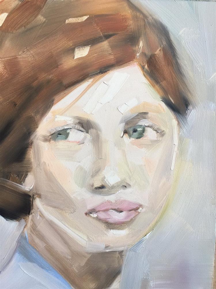 """455 Beautiful to Strangers"" original fine art by Jenny Doh"