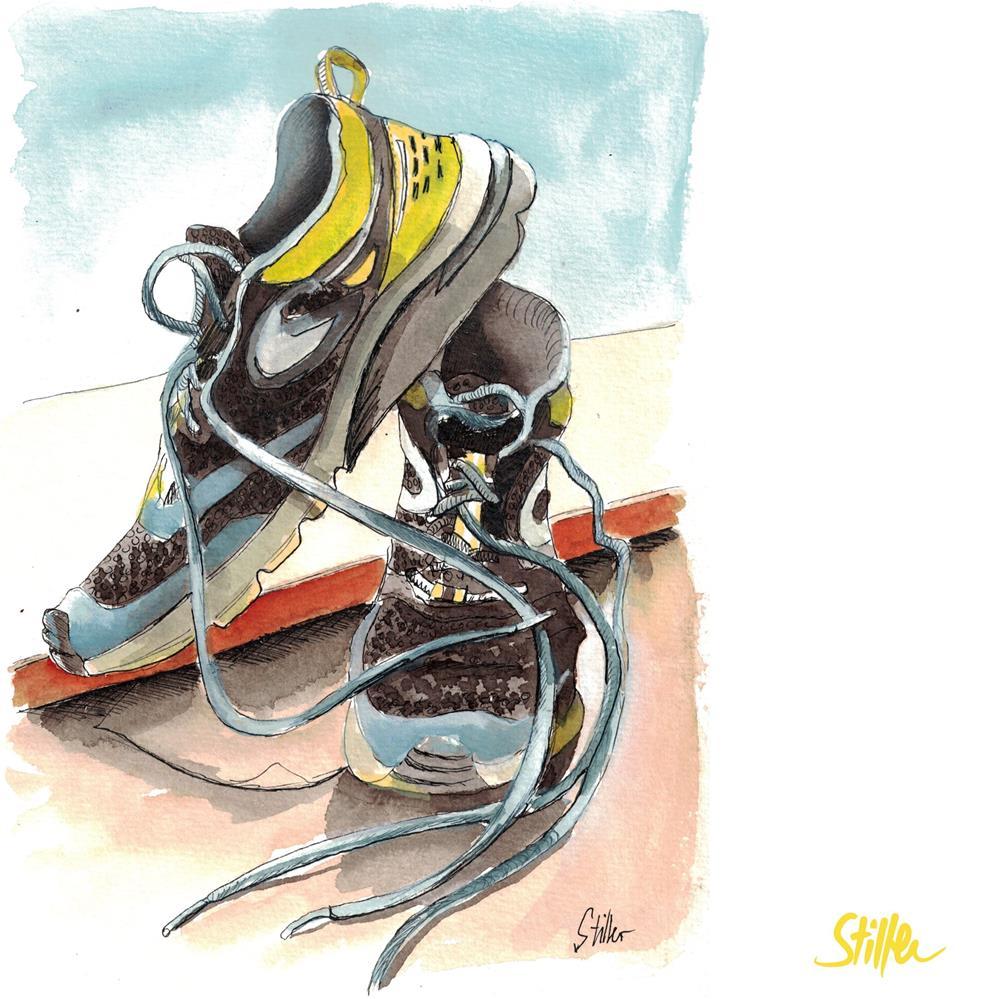 """""""3543 Sport Stuff """" original fine art by Dietmar Stiller"""
