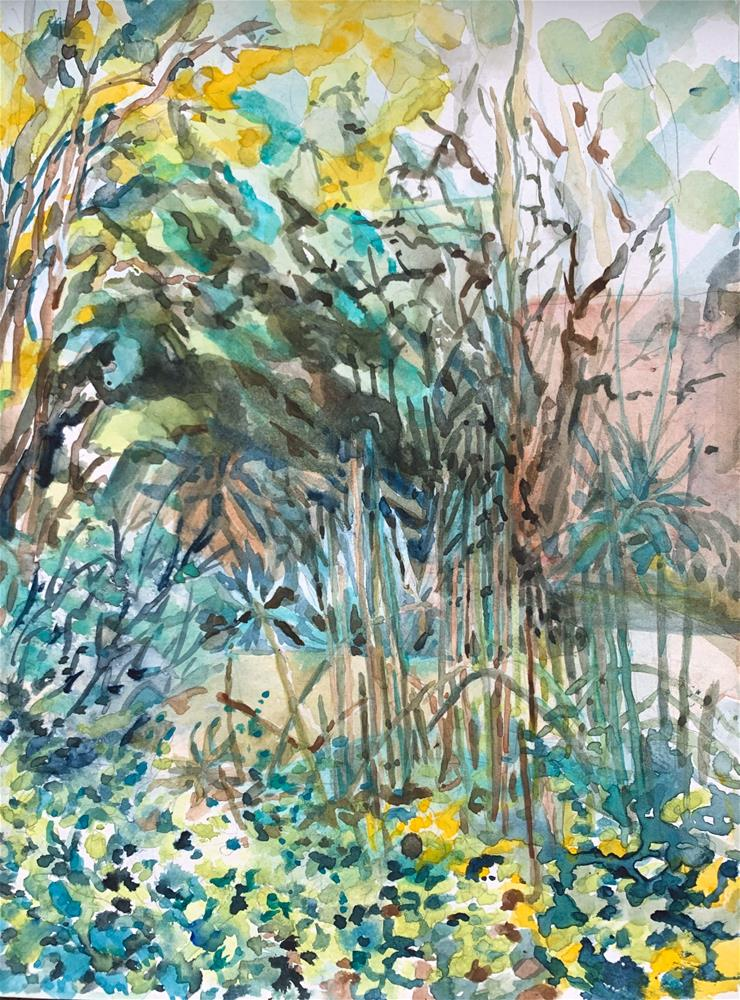 """Tohono Chul"" original fine art by Jean Krueger"