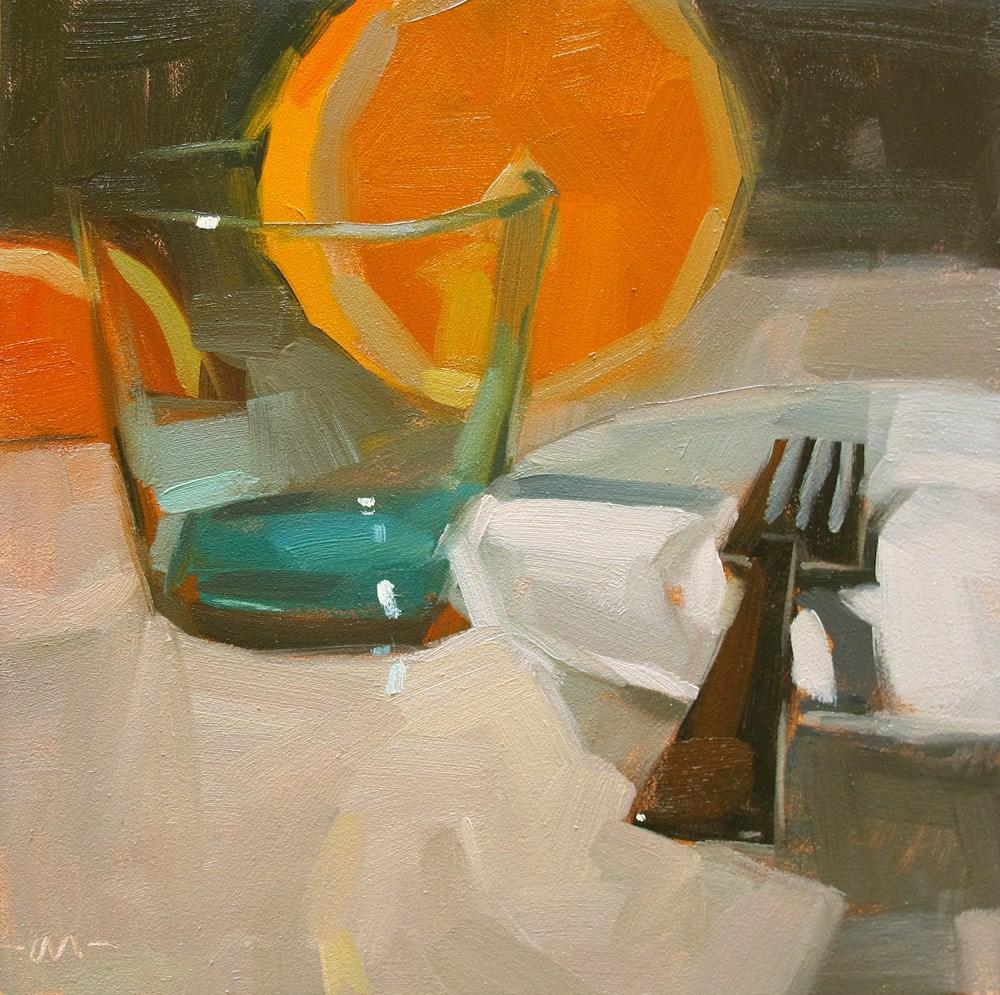 """""""After Dinner, After Drinks"""" original fine art by Carol Marine"""