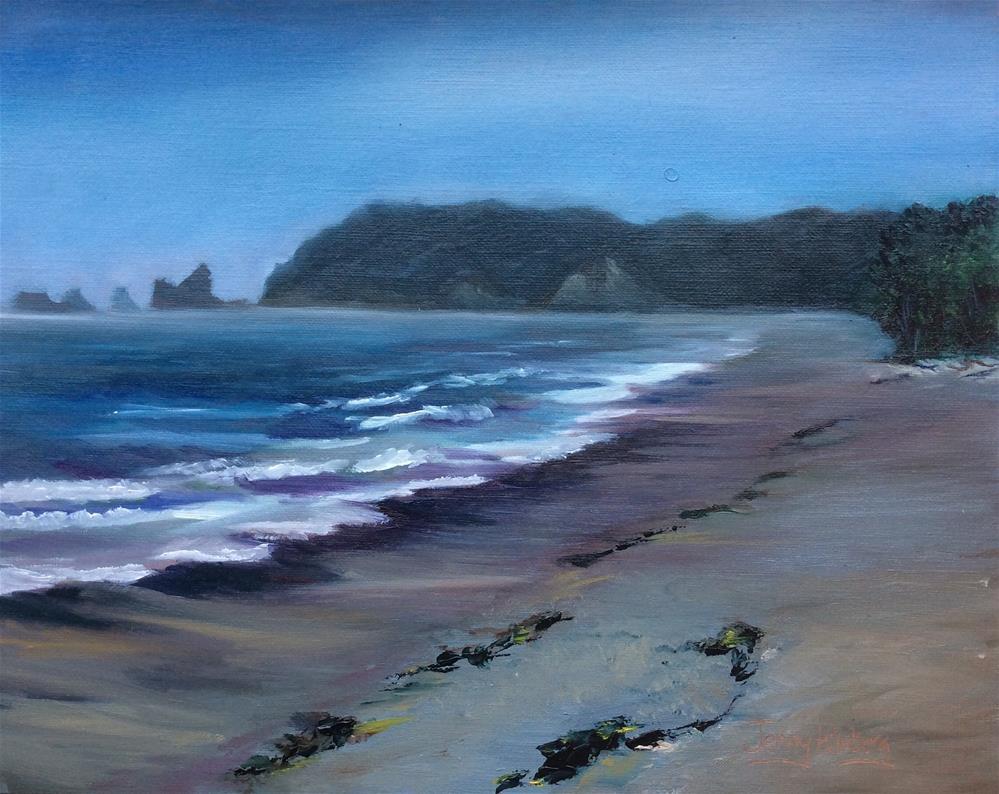 """""""Outgoing Tide"""" original fine art by Jenny Kinberg"""