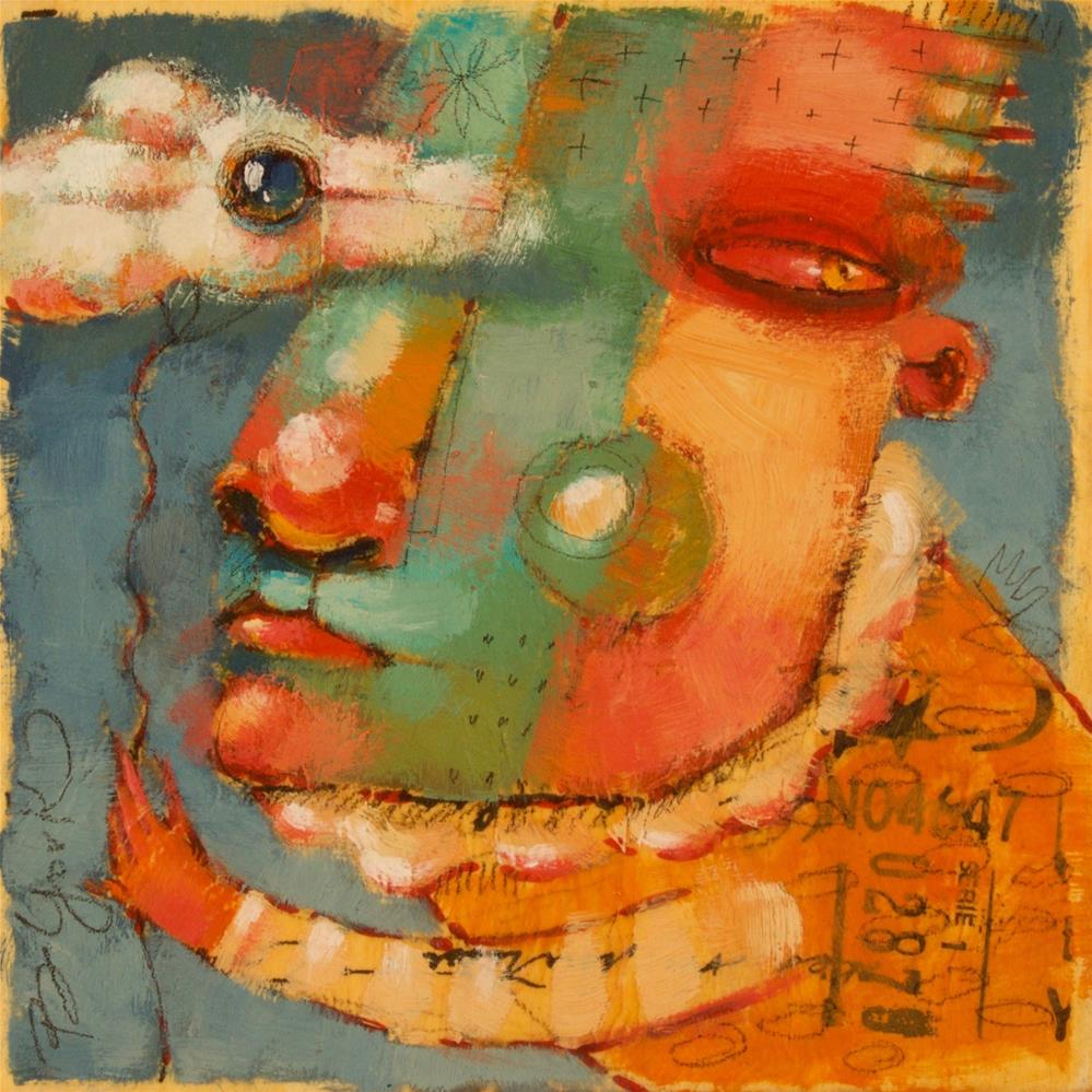 """Cloud Zeppelin"" original fine art by Brenda York"