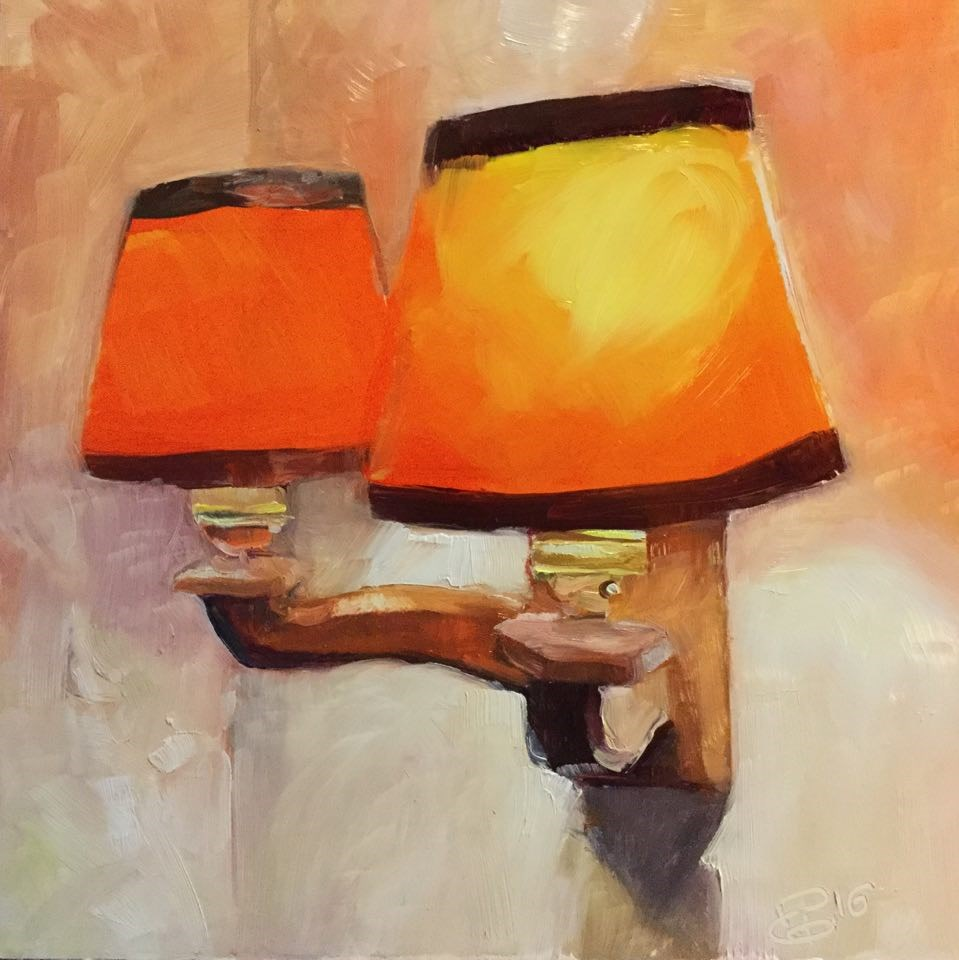 """Lighting"" original fine art by Paula Howson-Green"