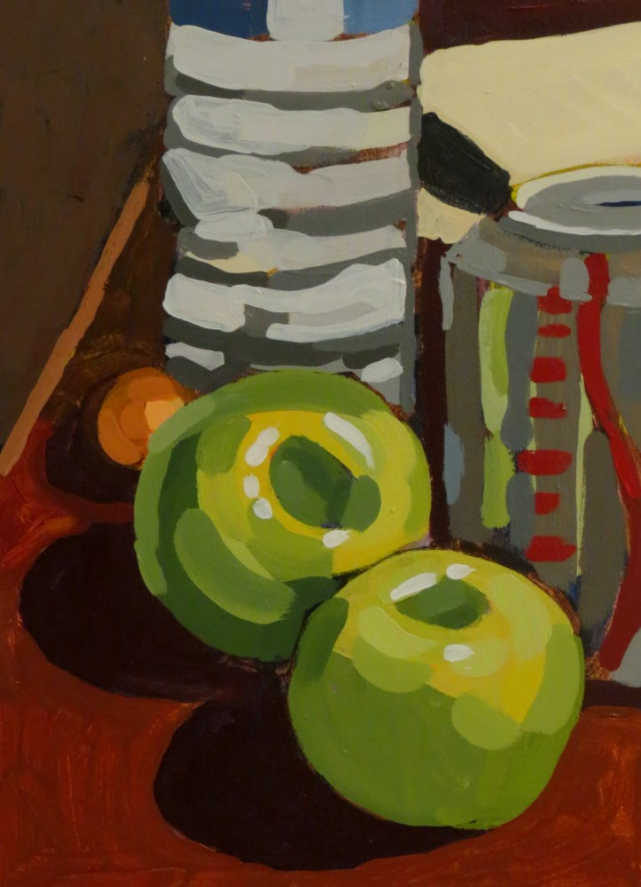 """""""Hampton Inn"""" original fine art by Joan Wiberg"""
