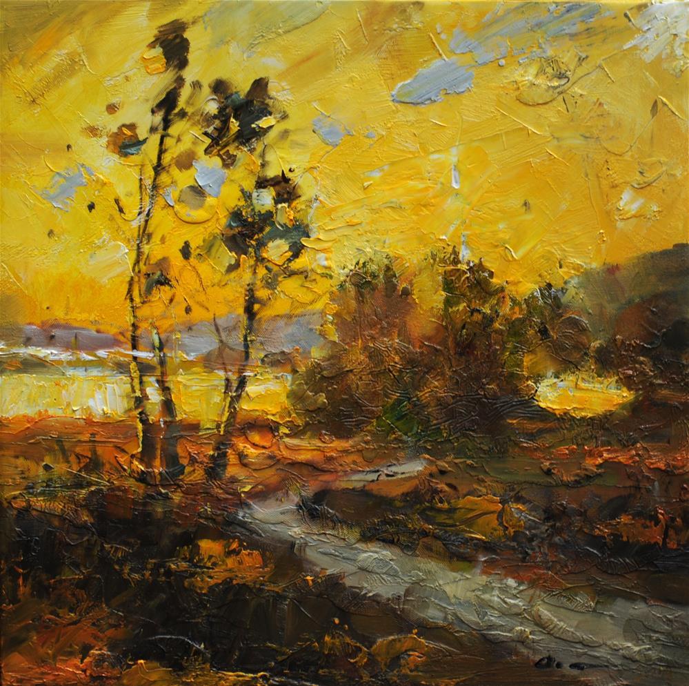 """Fall"" original fine art by Anny Kong"