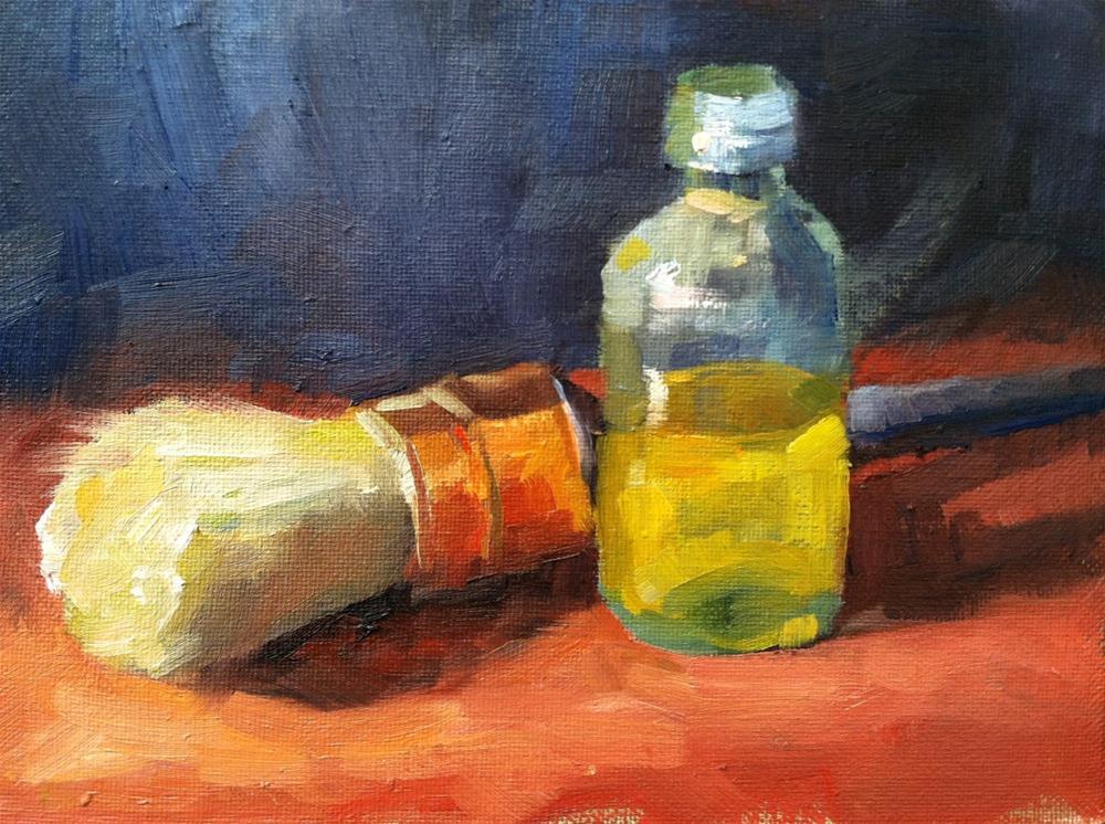 """Brush and Varnish"" original fine art by Michael Williamson"