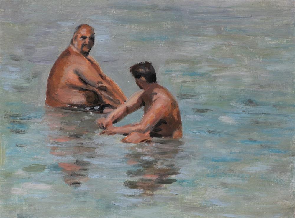 """Back to Summer 2"" original fine art by Aniko Makay"