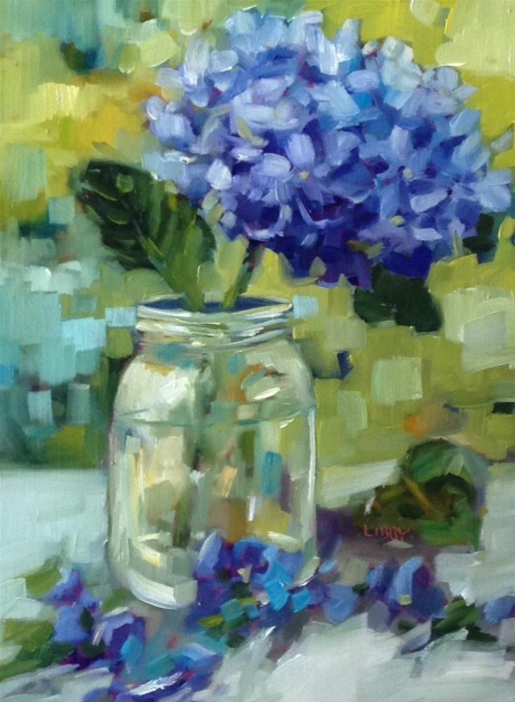 """Time Sensitive"" original fine art by Libby Anderson"
