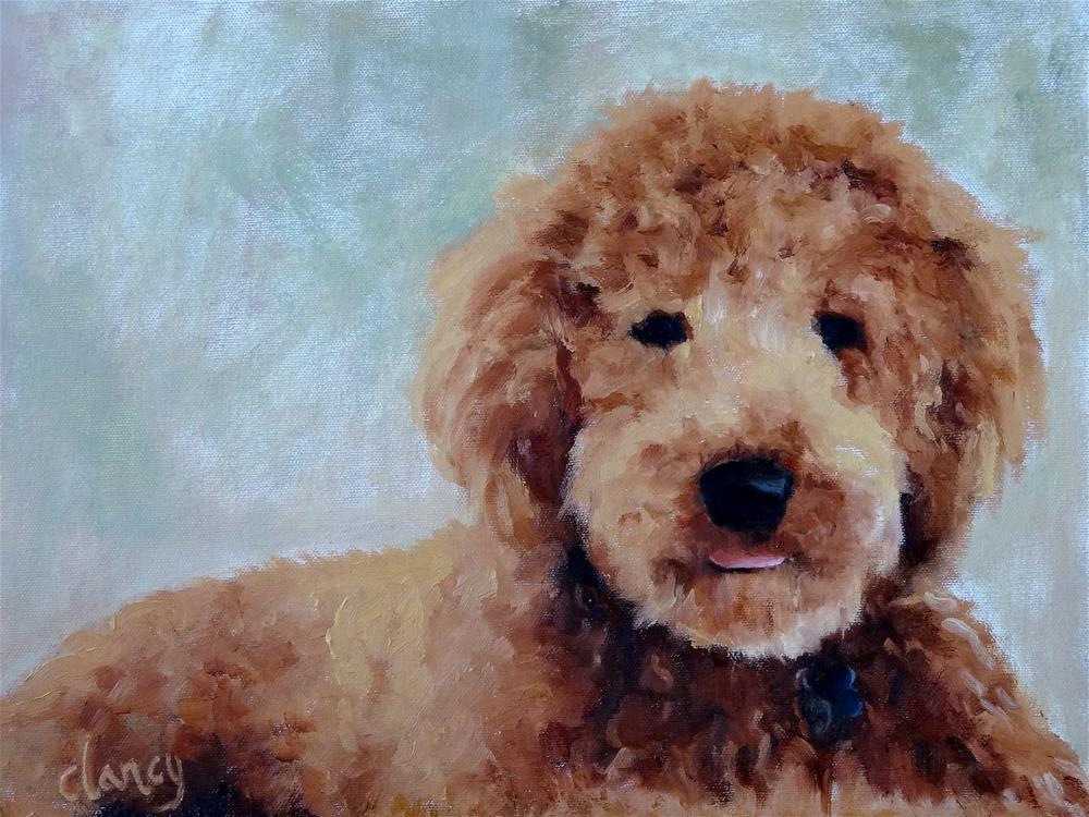 """""""Sadie"""" original fine art by Catherine Clancy"""