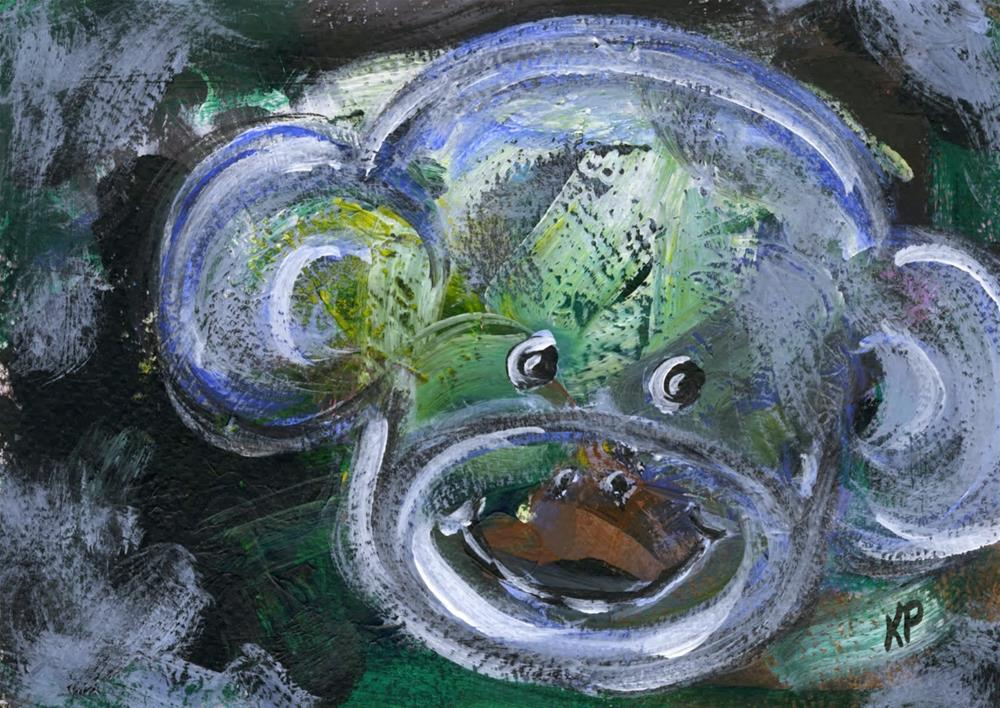 """Monkeying Around"" original fine art by Kali Parsons"