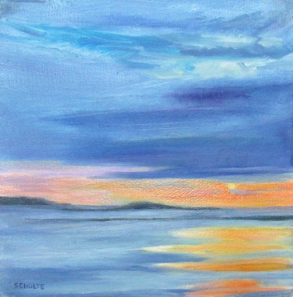 """Sun Squeeze"" original fine art by Lynne Schulte"