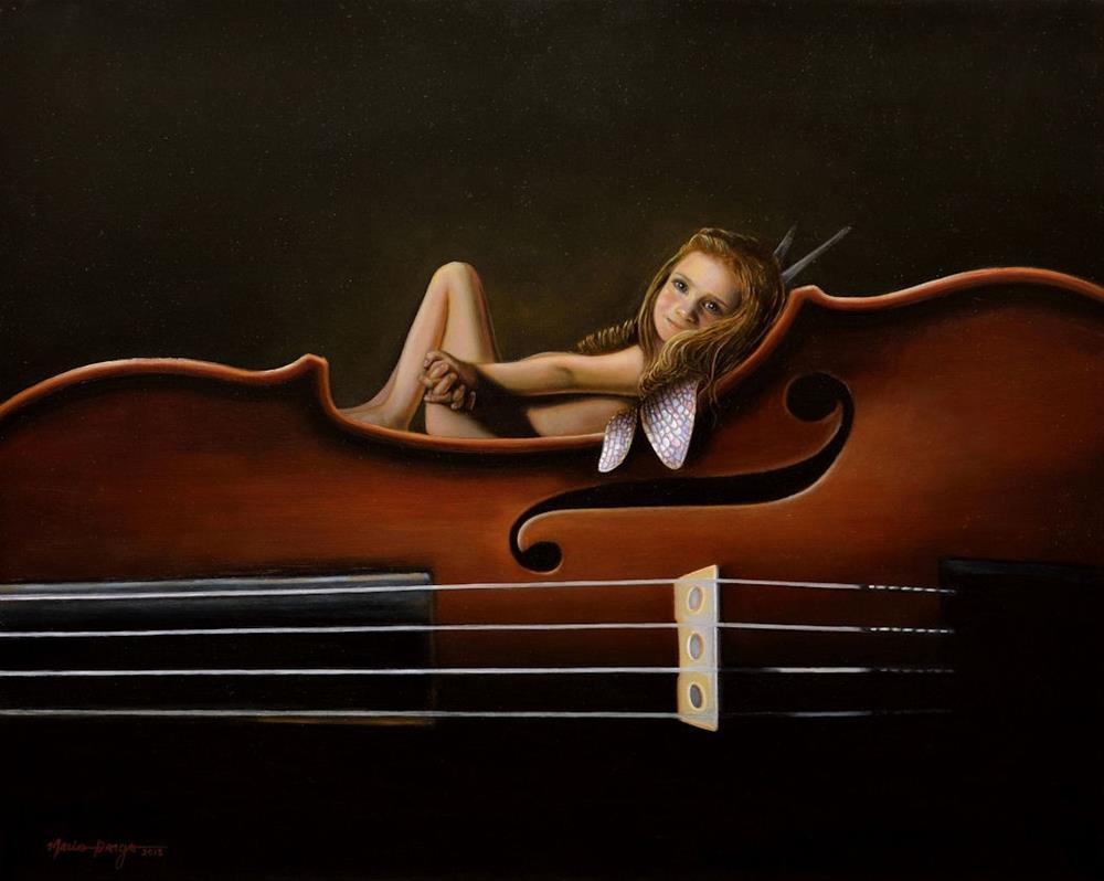 """Master's Muse II"" original fine art by Mario Parga"