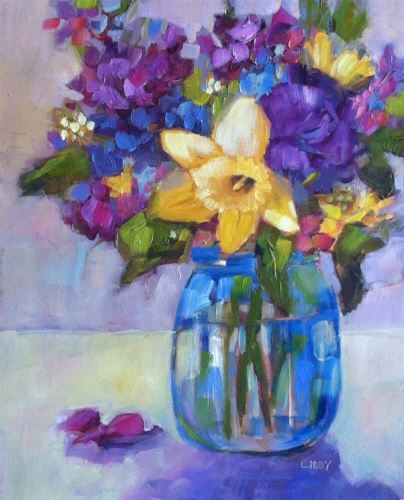 """""""Color Theory"""" original fine art by Libby Anderson"""