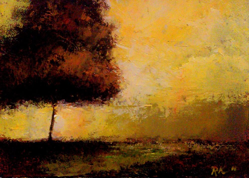 """The Dark Tree"" original fine art by Bob Kimball"