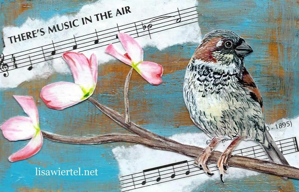 """""""There's Music In The Air"""" original fine art by Lisa Wiertel"""