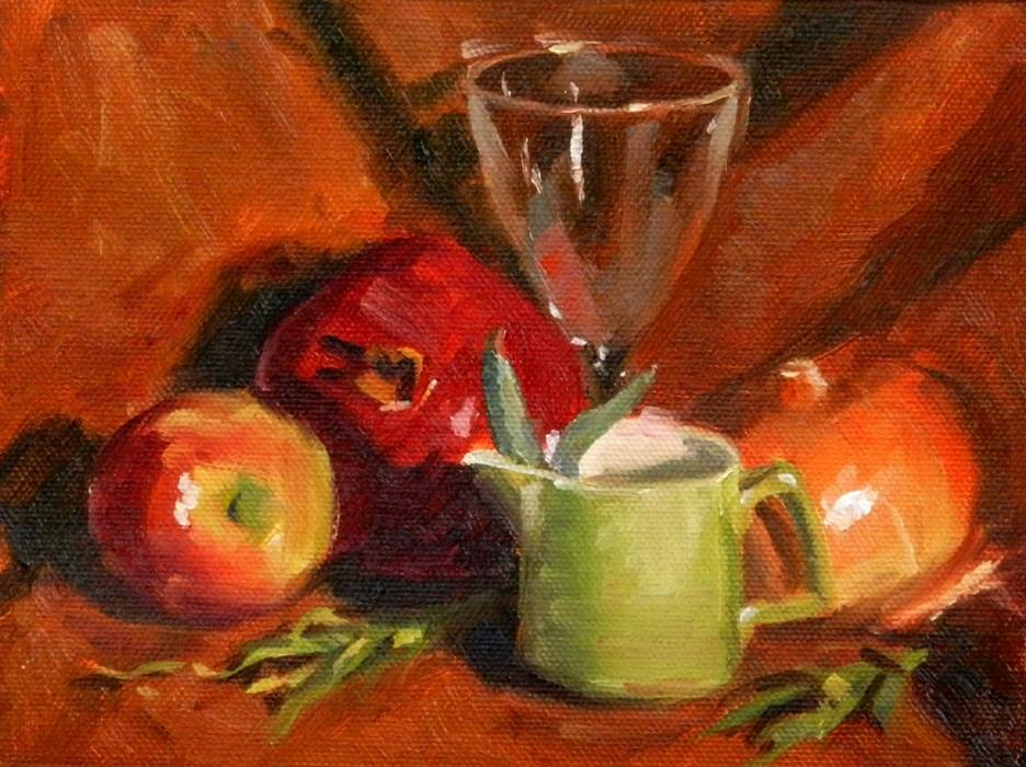 """Still Life #1"" original fine art by Susan McManamen"