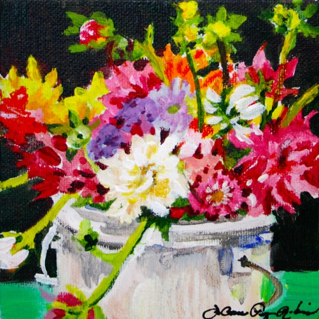 """Spring Mix"" original fine art by JoAnne Perez Robinson"