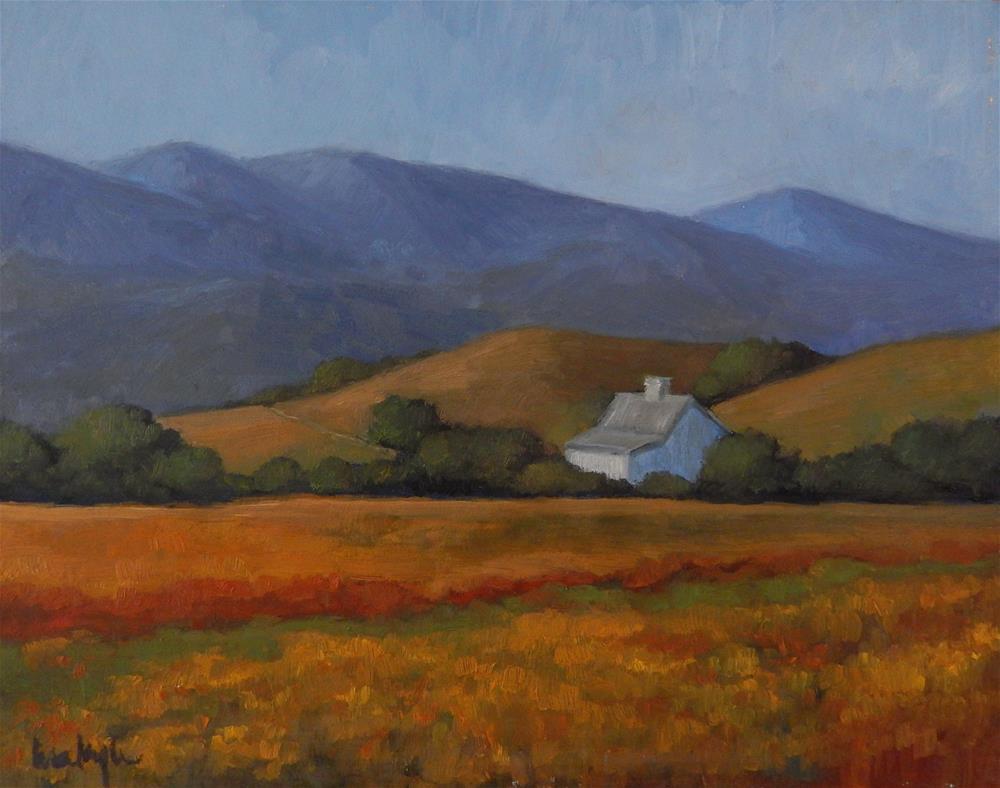"""California Gold"" original fine art by Lisa Kyle"