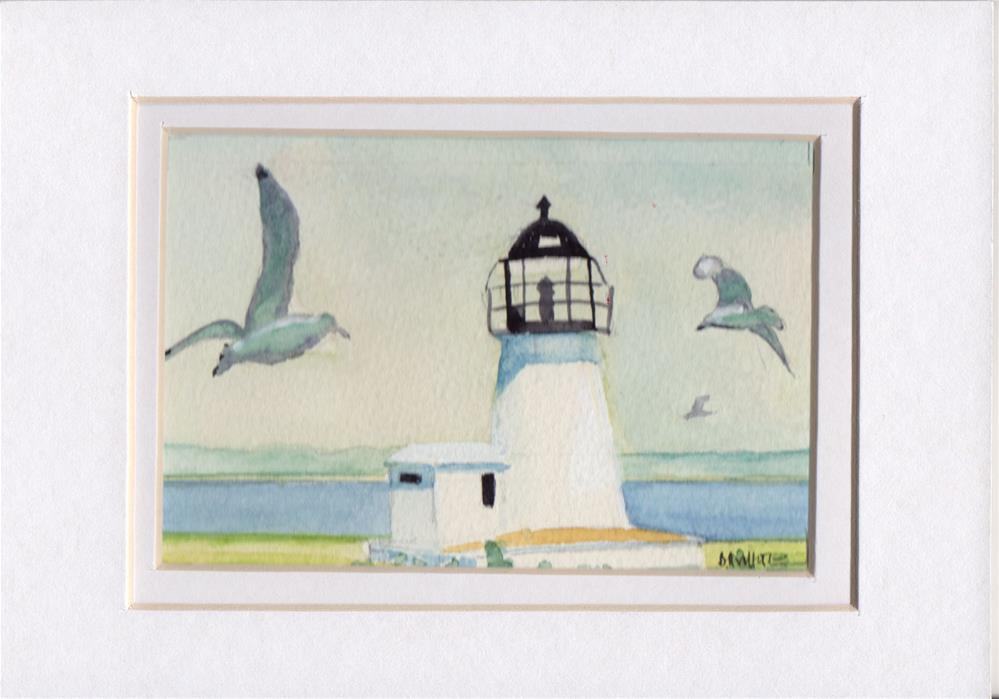 """""""Lighthouse"""" original fine art by Bunny Griffeth"""