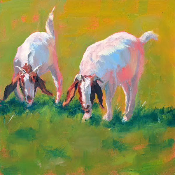 """Two of a Kind"" original fine art by Brenda Ferguson"