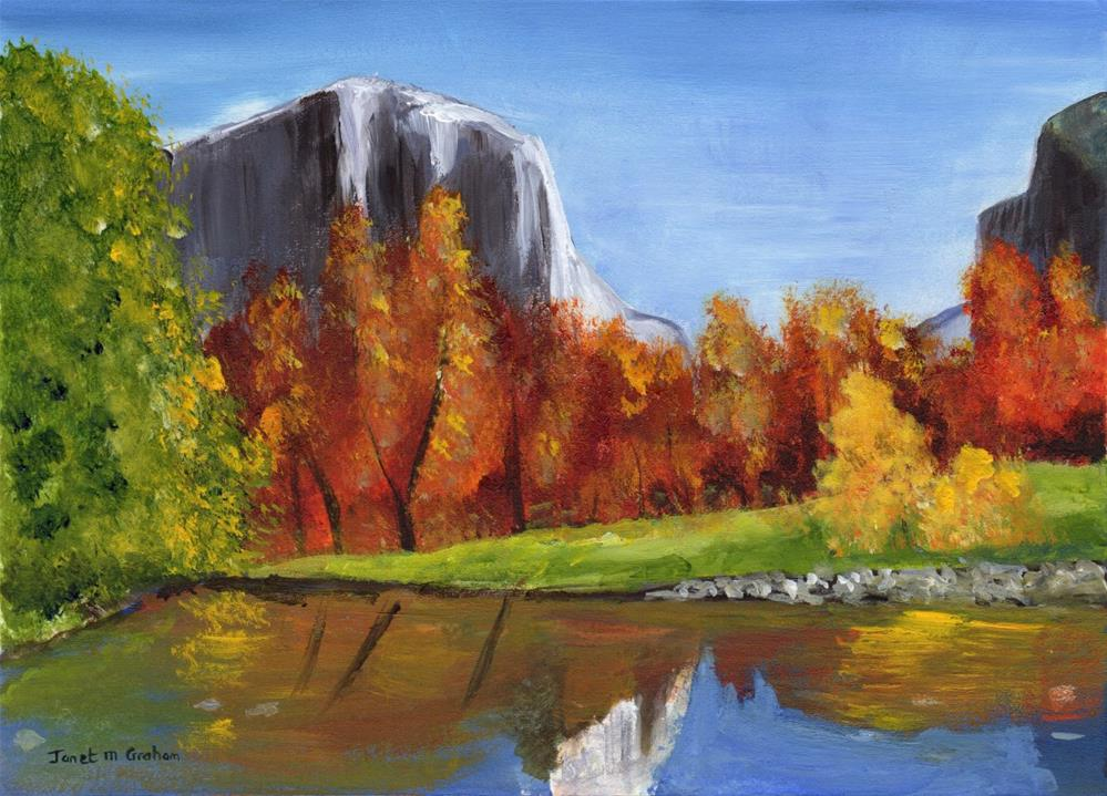 """Autumn"" original fine art by Janet Graham"