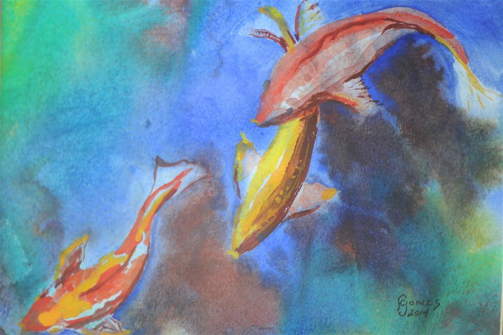 """Follow the Leader"" original fine art by Fred Jones"