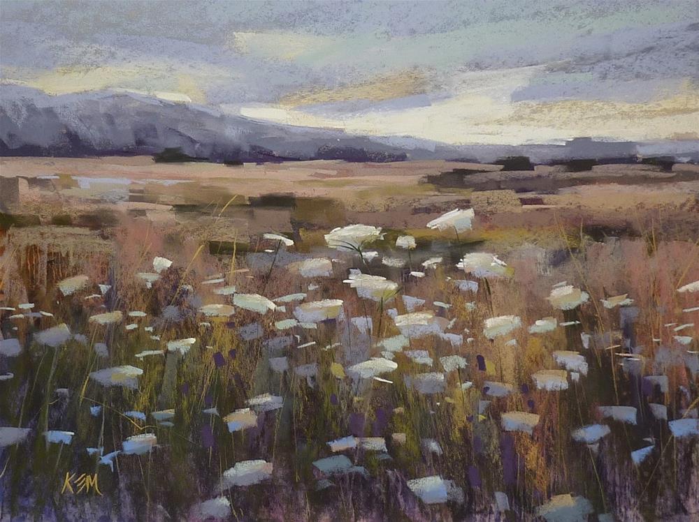 """""""3 in 5 Art Challenge Day 3 ...Wildflowers"""" original fine art by Karen Margulis"""