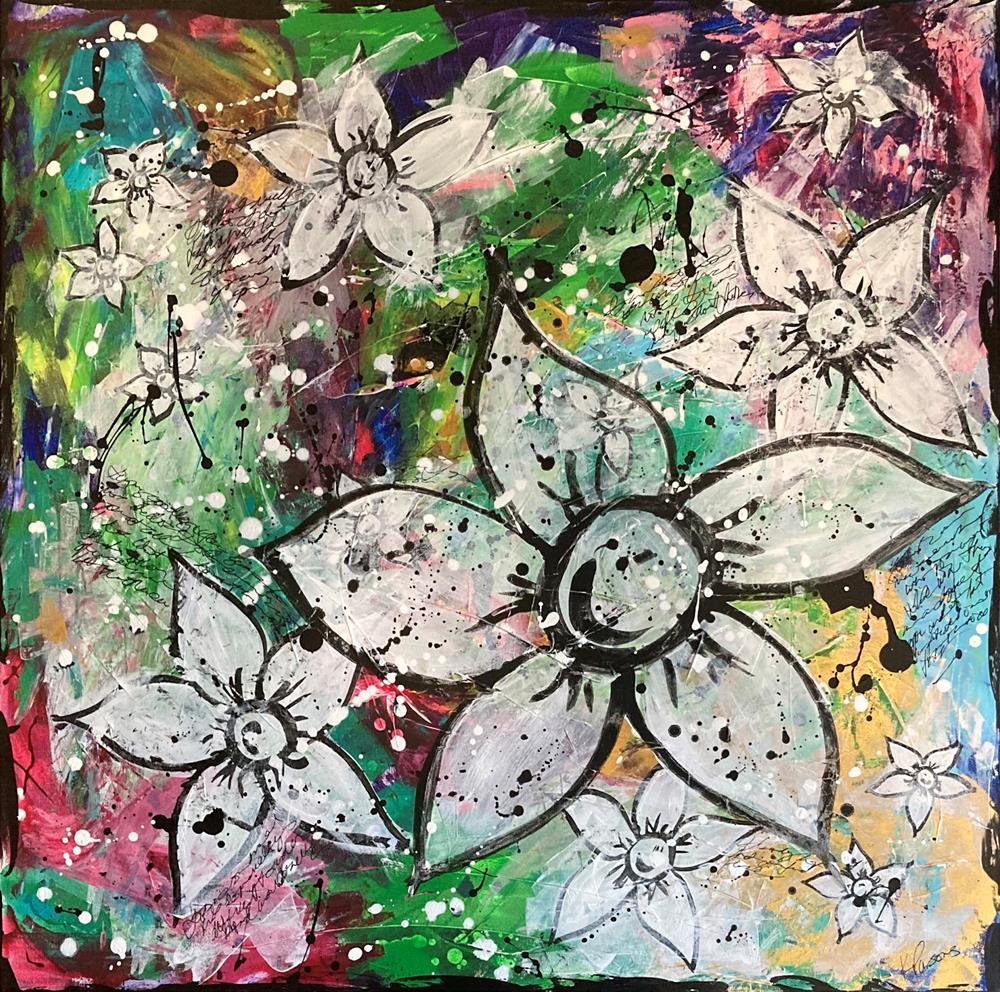 """At Peace"" original fine art by Kali Parsons"
