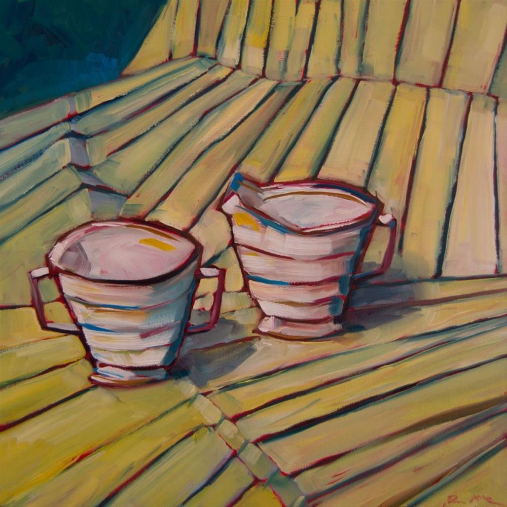 """0390: Taking the Creamer Out For a Walk"" original fine art by Brian Miller"